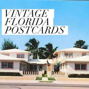 Vintage Wall Art - Vintage Florida USA Souvenir Postcards